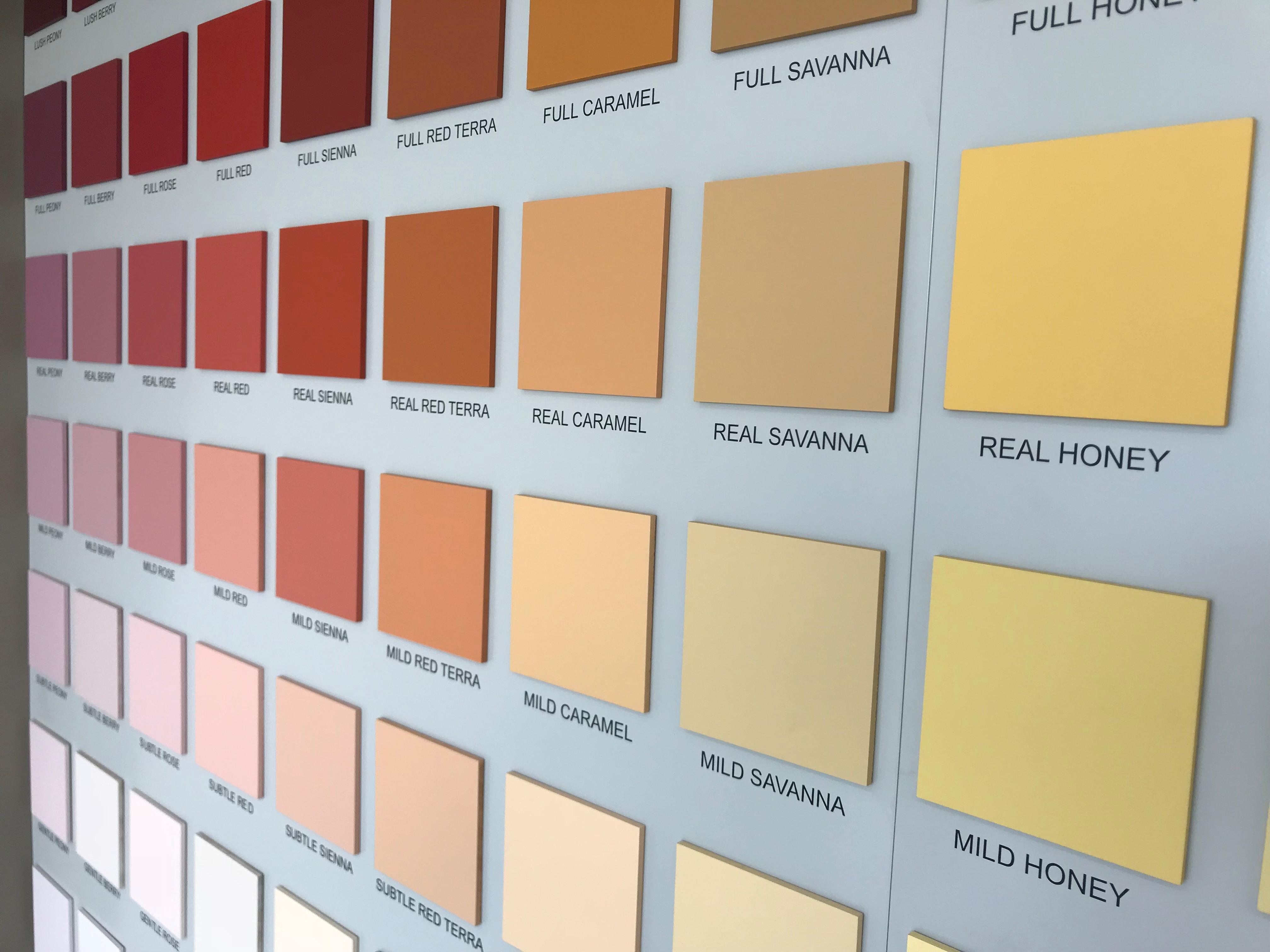 Tabella Colori Sikkens Ral prodotti - fercoldigiorico